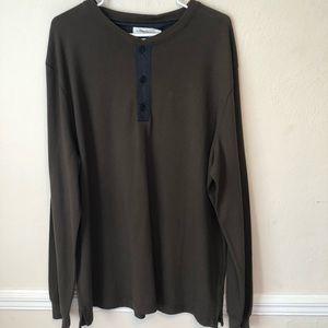 3.1 Phillip Lim x Target Long Sleeve Henley Shirt